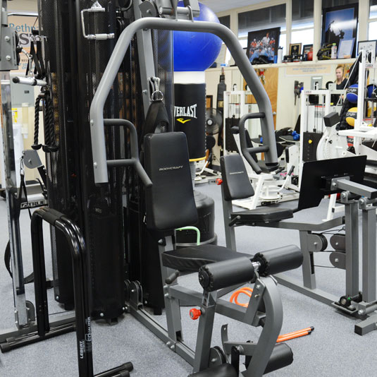 Exercise equipment at Farmingdale Physical Therapy