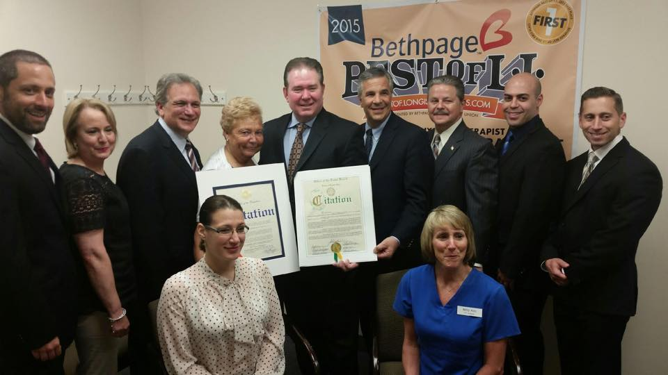 Farmingdale PT receives Citation from the Nassau County Office of Executive 2015