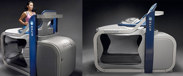 Introducing the Alter-G Zero Gravity Treadmill!