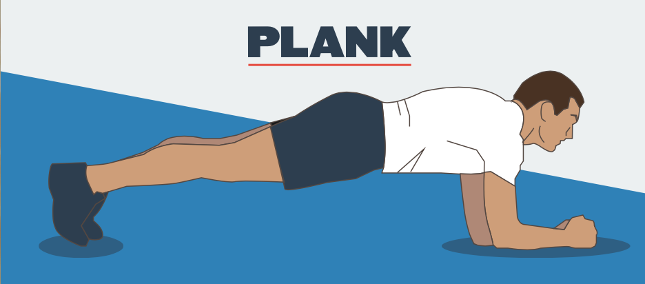 The plank is a underrated workout for your abs!