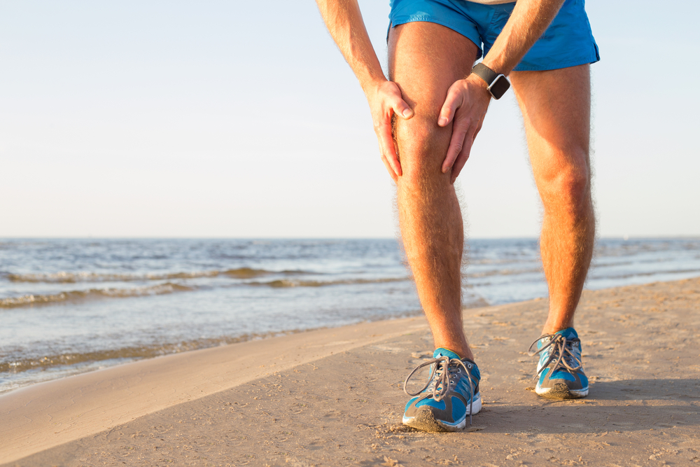 Running on the Beach - ACL Injury