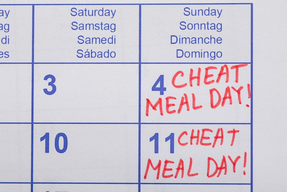 Cheat Meal Calendar